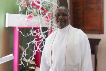 Rector of the St George's Episcopal (Anglican) Church Dr Ian E. Rock. Photo: Barbados Today