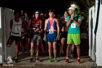 A record 116 runners took part in this post-Irma edition of the Tortola Torture, with 37 individual runners (22 men, 15 women), 12 two-person and 19 three-person teams. Photo: Tortola Torture