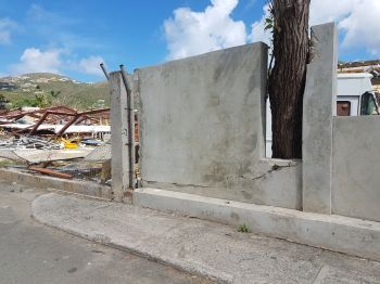 Minister for Education and Culture Hon Walwyn V. Walwyn (AL), had publicly contradicted his boss, Premier and Minister of Finance Dr The Hon D. Orlando Smith on the cost of the wall, which was also damaged by Hurricane Irma, but eventually admitted his figures were wrong. Photo: VINO/File
