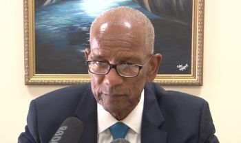 Dr The Honourable D. Orlando Smith (AL), Premier and Minister of Finance has been critised for mismanaging the finances of the territory. Photo: VINO