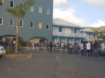 Following the passage of the hurricanes of September 2017, persons have been complaining about the poor service that they have experienced at the Immigration and Labour Department. Photo: VINO/File