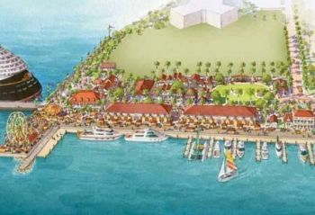 Many are questioning the ability of the BVI Ports Authority's ability to spearhead the Cruise Pier Project. Photo: Provided