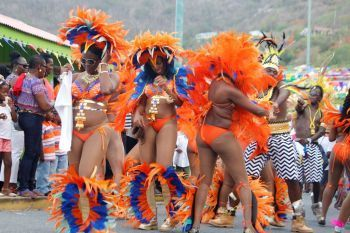 The Annual August Monday Parade is a feature of the VI's Emancipation Celebrations: VINO/File