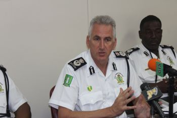 Michael B. Matthews, Commissioner of Police emphasized that the officers have been performing several roles in security and as a result they cannot be stationed everywhere. Photo: VINO/File