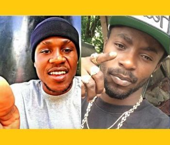Michael Stevens, 26 (left) and Clevaughn Sweeney, 24 (right) were brutally murdered on Saturday, February 10, 2018 in the vicinity of the Althea Scatliffe Primary School (ASPS). Photo: Team of Reporters