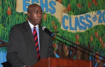 Minister for Education and Culture Honourable Myron V. Walwyn has been flip-flopping on his decision to expel a group of students from the government education system. Photo: VINO/File