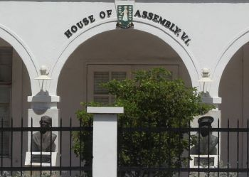 The House of Assembly of the Virgin Islands meets today, Thursday, March 1, 2018. Photo: VINO/File