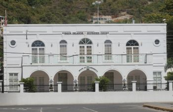 The building that houses the High Court of the Virgin Islands is said to be a far cry from the ideal situation despite improved conditions for jurors. Photo: VINO