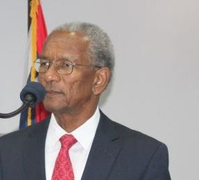 Premier of the Virgin Islands (UK) Dr The Hon D. Orlando Smith (AL) has rubbished reports that the United Kingdom has called for the VI to hold elections in August or face intervention. Photo: VINO/File