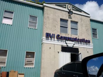 The owner of BVI Communications in Purcell Estate reportedly had gasoline poured all over him by an irate customer today, October 23, 2017. Photo: VINO/File