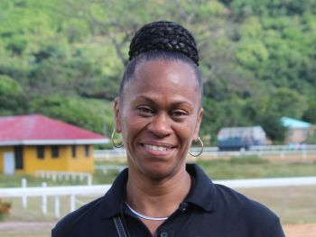 President of the Virgin Islands Horse Owners' Association Karen B. Smith-Aaron told this news site that the preparations for the race are being finalised and there is excitement in the air. She said that this is one of the most riveting meets in the history of horse racing at Ellis Thomas Downs with such a large contingent of horses from St Thomas and St Croix. Photo: VINO/File