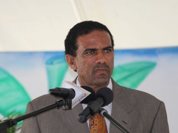 Minister for Natural Resources and Labour Dr the Honourable Kedrick D. Pickering said despite the criticisms of the greenhouse project, it is intended that they see the production of food by the end of this year. Photo: VINO/File