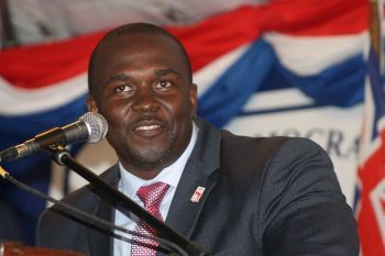 Honourable Marlon A. Penn (R8), Junior Minister for Trade and Investment Promotion, told the members of the House that it is 'unacceptable' that workers are still not paid for services rendered following the hurricanes of September 2017. Photo: VINO/File