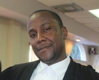 Mr Kalik S. Aaron was represented by Attorney-at-Law, Patrick Thompson (in picture). Photo: VINO/File