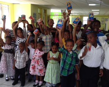 The young members of the New Life Baptist Children's Church recently embarked on a project to donate canned and non-perishable foods to the Family Support Network (FSN) for a 4-month period. Photo: VINO/file