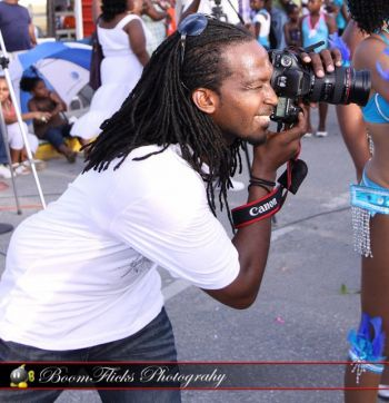 Mr Khari J. Adams loves photography but said that its not something he does as a priority job but more on the side. Photo: Provided