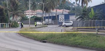 The accident on the James Walter Francis Drive dual carriageway on February 1, 2020 has reportedly claimed the like of a motor cyclist. Photo: Team of Reporters