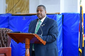It was also noted that Thursday, November 12, 2020, marked the third Budget Address for the current Premier and Minister of Finance, Honourable Andrew A. Fahie (R1). Photo: GIS/File