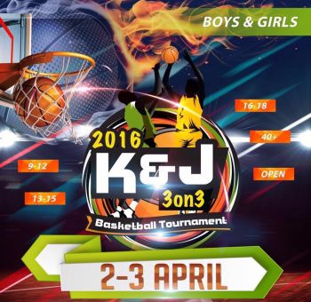 The ever popular K&J 3 on 3 Basketball Tournament run by Kennedy H. Bass and Jason A. Edwin is back for 2016 with a start date of April 2, 2016 in the Multi-Purpose Sports Complex. Photo: Provided