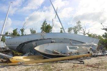 The rapid removal of abandoned or derelict vessels in the Territory will commence shortly in West End. Photo: GIS