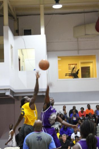 The 2019 Hon Julian Fraser Save the Seed National Basketball League, which tips off on August 24, 2019, is expected to be another keenly contested affair. Photo: Paul A. Hewlett aka 'Paul on the Ball'
