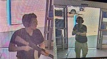 CCTV footage captured the gunman that carried out the mass killings in El Paso, Texas on August 3, 2019. Photo: KTSM 9 news Channel / AFP
