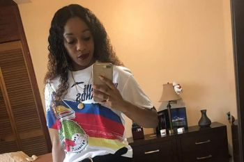 According to police, on June 12, 2020, at 6:15pm they arrested and charged Akiya Brewley, 33, of Nottingham Estate for Carrying an Unlicensed Firearm and Failing to Stop at the Stop Light. Photo: Facebook