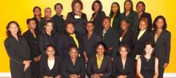 Some of the ZONTA Club of Tortola members. Photo: Provided