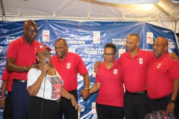 """Further, Hon Andrew A. Fahie implored that the money could not even be budgeted for since the figure due was not known, """"So when persons were saying before the elections the increments is ready to go, that's factually not so,"""" he said in relation to a National Democratic Party (NDP) promise to make the payments after the February 2019 elections date. Photo: VINO/File"""