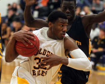 """""""My dream for a career growing up was to be a professional basketball player and to play in the highest league possible which today is still my dream. And no it has not change. I'm presently working towards that same dream as I'm looking forward to being a part of Kent State University Basketball team in January 2015."""" Deon J. Edwin. Photo: Provided"""