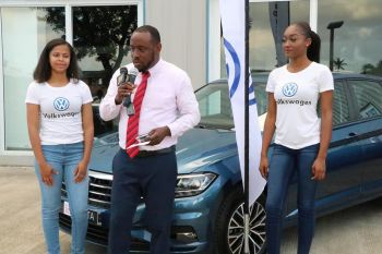 Senior Executive for Marketing and Sales at Tortola Auto Group, Mr Gordon U. French said on Friday, November 1, 2019 CIBC First Caribbean International Bank's representatives will visit the TAG showroom to offer on the spot financing at 4.99% interest rate, which is an exclusive offer to TAG. Photo: Facebook/TAG