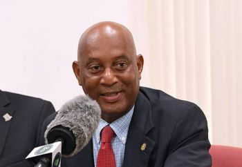 Minister for Natural Resources, Labour and Immigration, Hon Vincent O. Wheatley (R9) said the situation of power boats and other vessels infringing in swim areas and dropping anchor close to the shoreline at Cane Garden Bay, Tortola, will be resolved next month after Swim Area and No Anchoring markers are installed. Photo: GIS/File