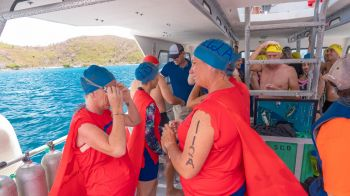 Some 61 contestants entered the annual Virgin Islands Search and Rescue (VISAR) Swim and SUP the Sound on June 2, 2019, making it one of the most successful events since its inception in 2014. Photo: VISAR