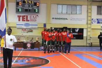 Team BVI Bayside Blazers at the 6th annual 'Battle of the Fittest' Basketball Tournament in Philipsburg, St Maarten on July 14, 2019. Photo: Battle of the Fittest/Facebook