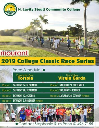 This year's College Classic Series will see four races run on Tortola and three on Virgin Gorda. Photo: Facebook
