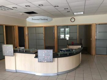 According to Hon Shereen D. Flax-Charles, with a building finally now available, Banco Popular is ready to commence operations on the Island. Photo: Facebook