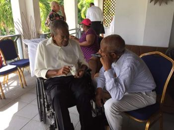 Hon O'Neal with the current Premier of the Virgin Islands, Dr the Hon D. Orlando Smith (AL). Photo: Facebook