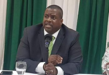 Premier and Minister of Finance Honourable Andrew A. Fahie (R1) says he has an issue with men not supporting their children. Photo: VINO