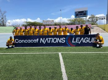 The Senior Virgin Islands Football Team will be full of confidence coming up against Bonaire in the CONCACAF Nations League today, September 6, 2019 in Curacao. Photo: BVIFA/Facebook