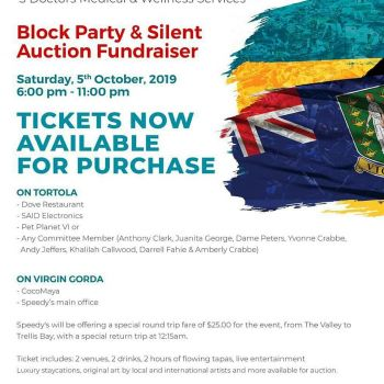Friends of Bahamas Block Party will be held on October 5, 2019. Photo: Facebook