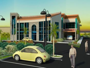Artist impression of the Nurse Iris O'Neal Medical Centre. Photo: GIS/File