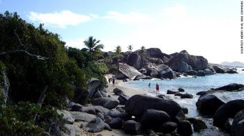 The Baths on Virgin Gorda is considered the territory's premier tourist destination. Photo: CNN/File