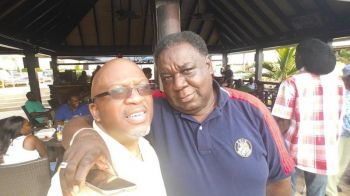 The late Mr Neil A. Byden (right) with his brother Robin E. Blyden (left). Photo: Facebook