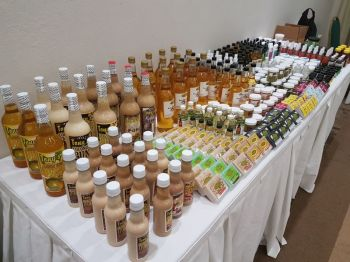 Some of the 'natural products' available at G. Organic Herbal Centre BVI Limited in Free Bottom. Photo: VINO