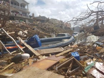 The controversial curfew imposed on residents on September 10, 2017, days after Hurricane Irma ravaged the Virgin Islands, has still not been lifted. Photo: VINO