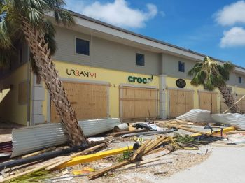 Looters also allegedly struck businesses on the Tortola Pier Park in 2017. Photo: VINO/File