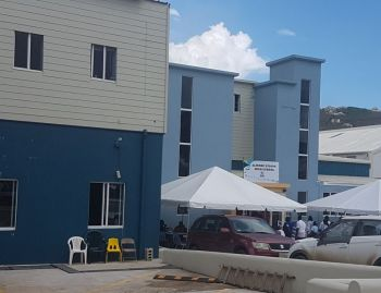 Students at the Elmore Stoutt High School (ESHS) resumed the January 2019 school term back into the crammed and deplorable conditions at the Old Clarence Thomas Building in Pasea Estate. Photo: VINO/File