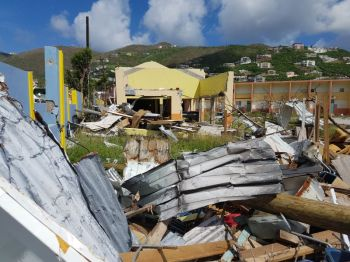 Government continues to be criticised for not involving the people of the Virgin Islands, following the devastation of hurricanes Irma and Maria in September 2017. Photo: VINO/File