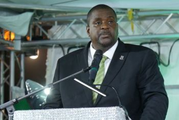 Premier and Minister of Finance, Honourable Andrew A. Fahie (R1), has said the Virgin Islands would maximise 'what is there' before thinking about lengthening the runway of the Terrance B. Lettsome International Airport on Beef Island. Photo: VINO/File