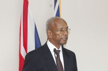 Premier Dr The Honourable D. Orlando Smith (AL) has called for a stop to the violence in the Territory. Photo: VINO/File